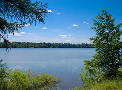 Рыбалка на Рузском водохранилище, в Рузском районе Подмосковья